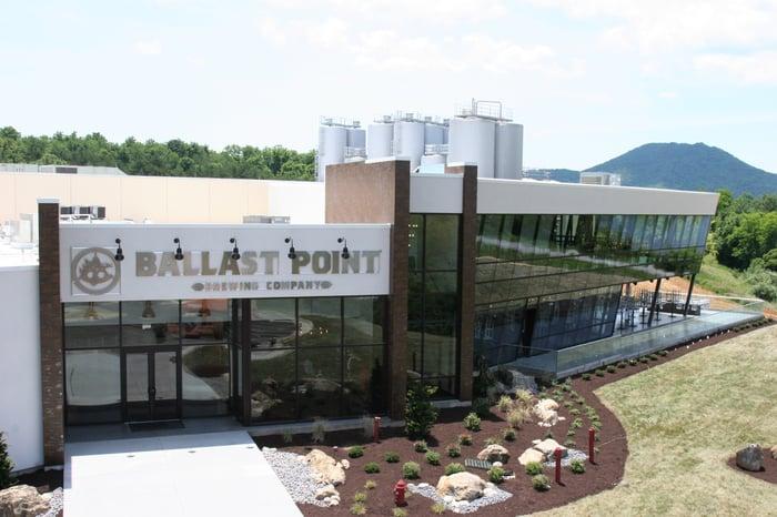 Ballast Point's new Virginia brewery