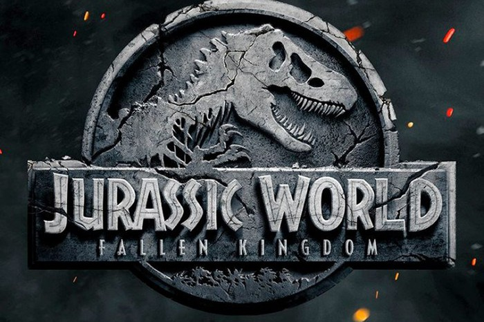 """Jurassic World Fallen Kingdom"" logo."