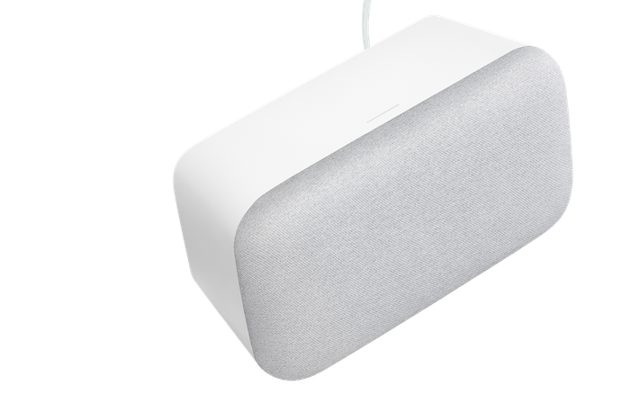 Picture of Google Home Max speaker.
