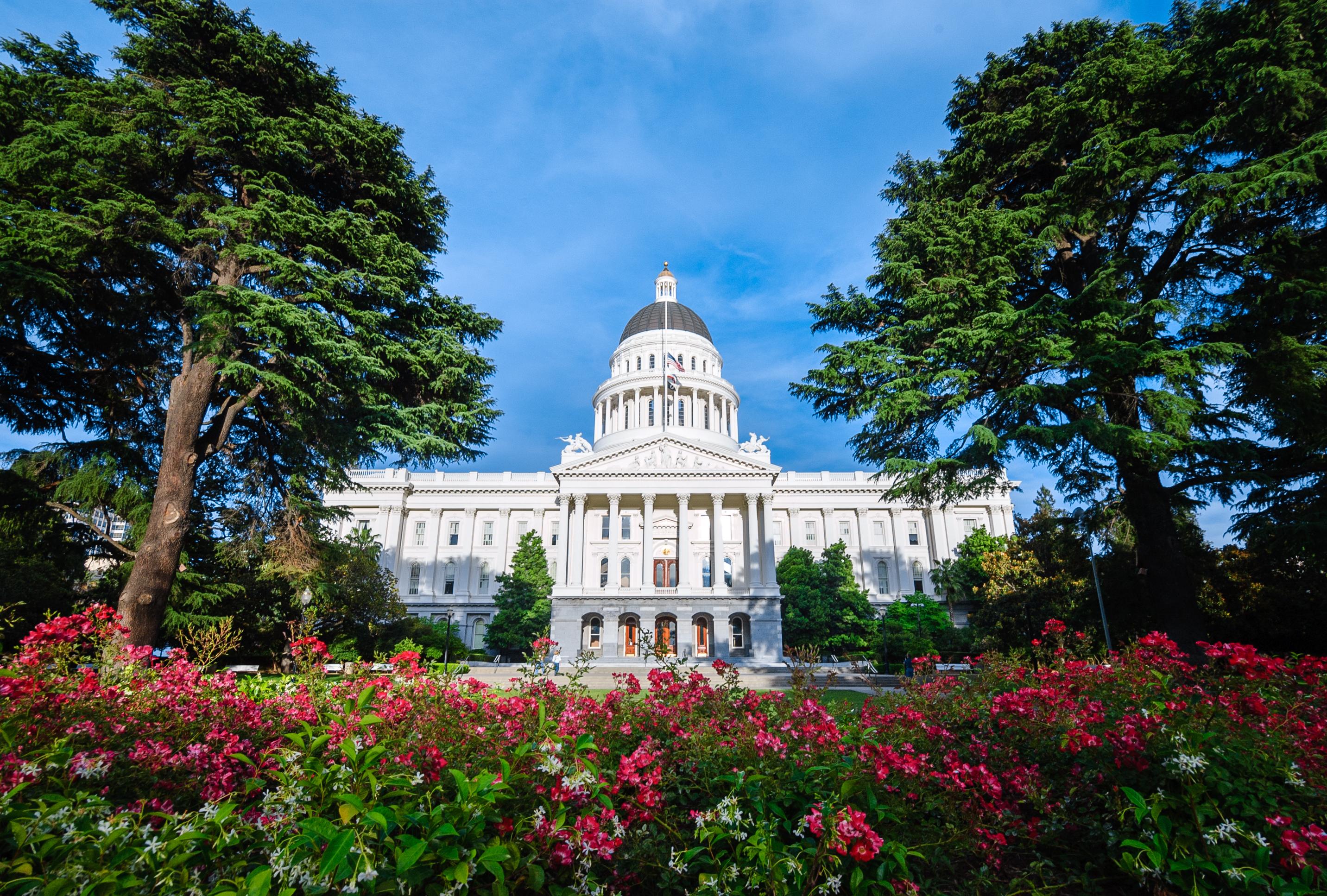 California state capitol.