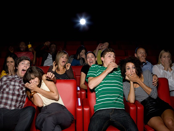 Movie theater shocked crowd