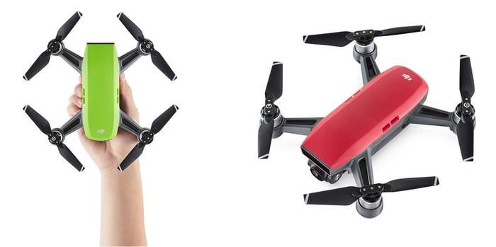 DJI's Spark drone.