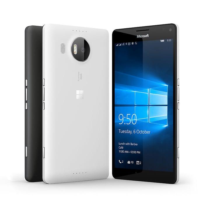 The Lumia 950 XL.