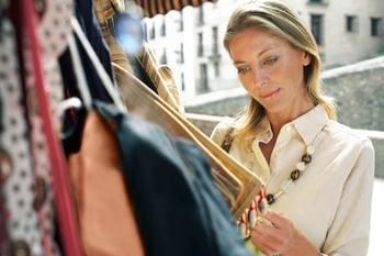 Woman Shopping Retail Credit Getty