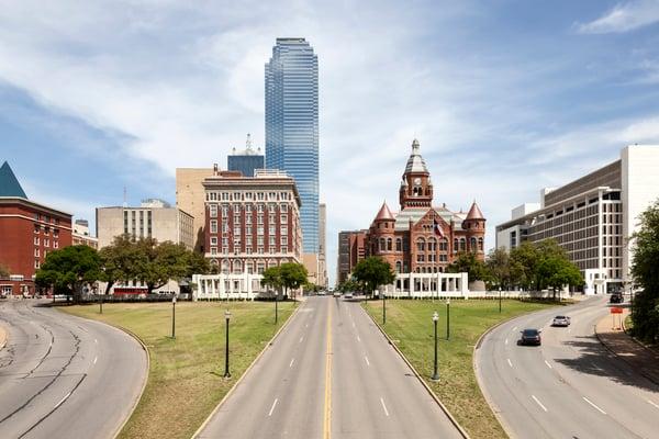 Bank of America Building in Dallas