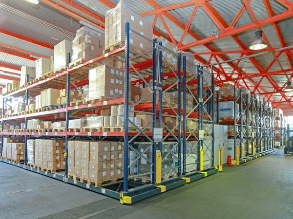 Warehouse With Boxes