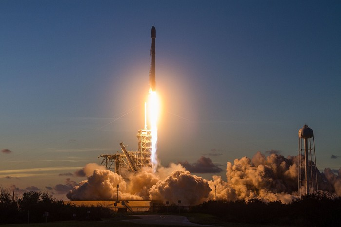 Falcon 9 rocket launch