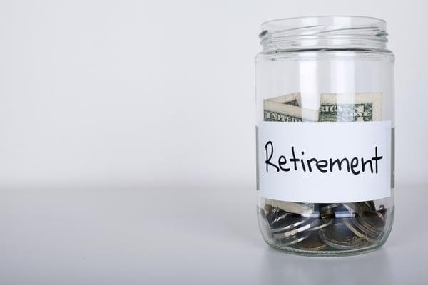 retirement savings jar