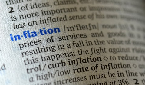 Inflation dictionary