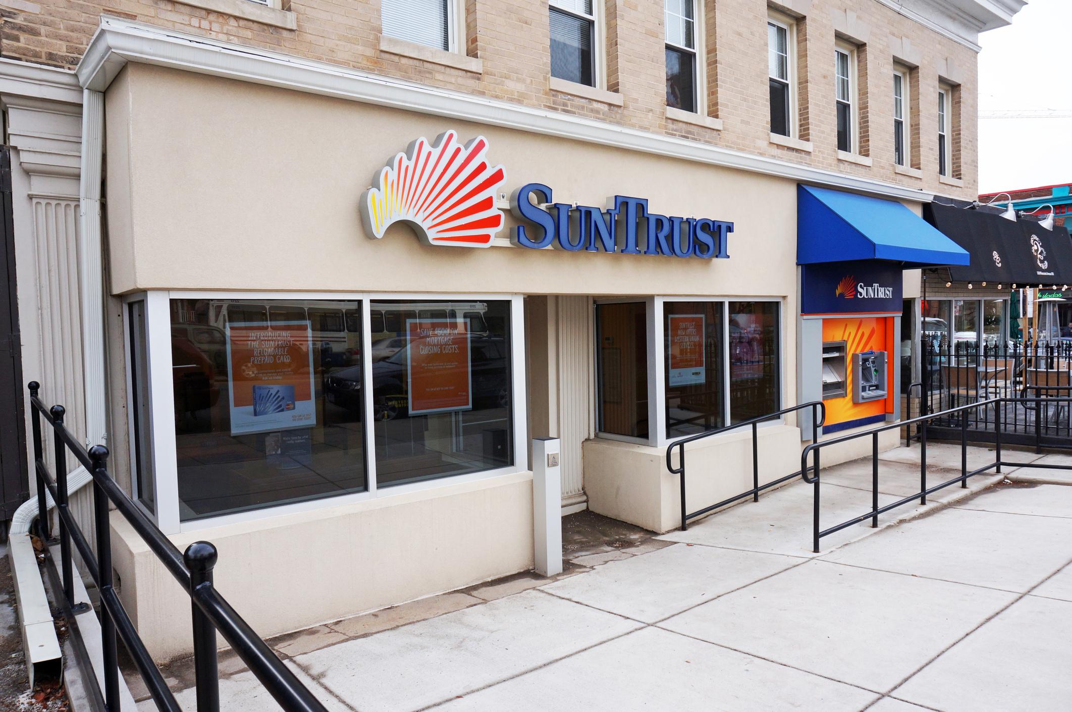 A branch of SunTrust Banks.