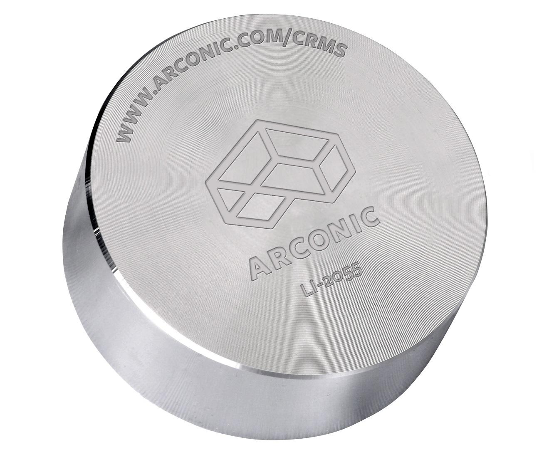 Arconic-produced lithium-aluminum cylinder.