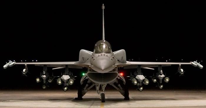 "F-16 ""V"" fighter jet"