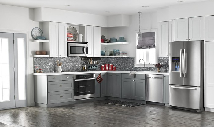 A kitchen featuring Whirlpool appliances