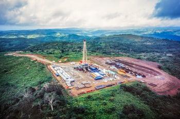 drilling rig hills
