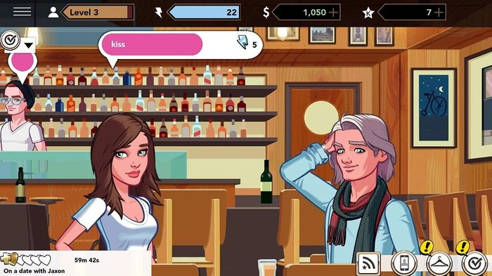 Sceenshot from the game Kim Kardashian: Hollywood.