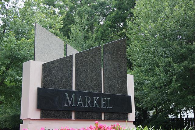 Markel sign at headquarters