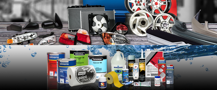 Wheels, fenders, auto body products, and other accessories.