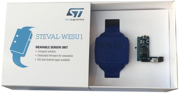 An ST wearable sensor unit