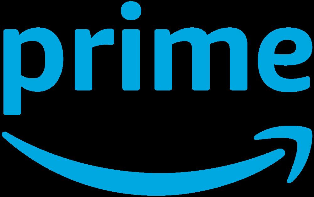Amazon Prime logo.