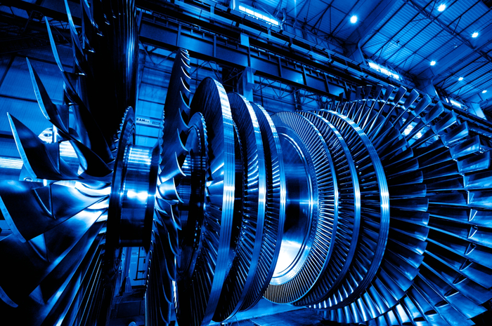 GE steam turbine