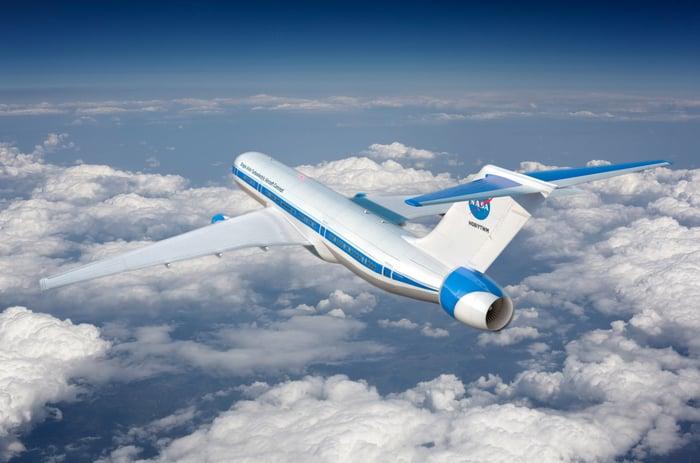 NASA's STARC-ABL concept plane