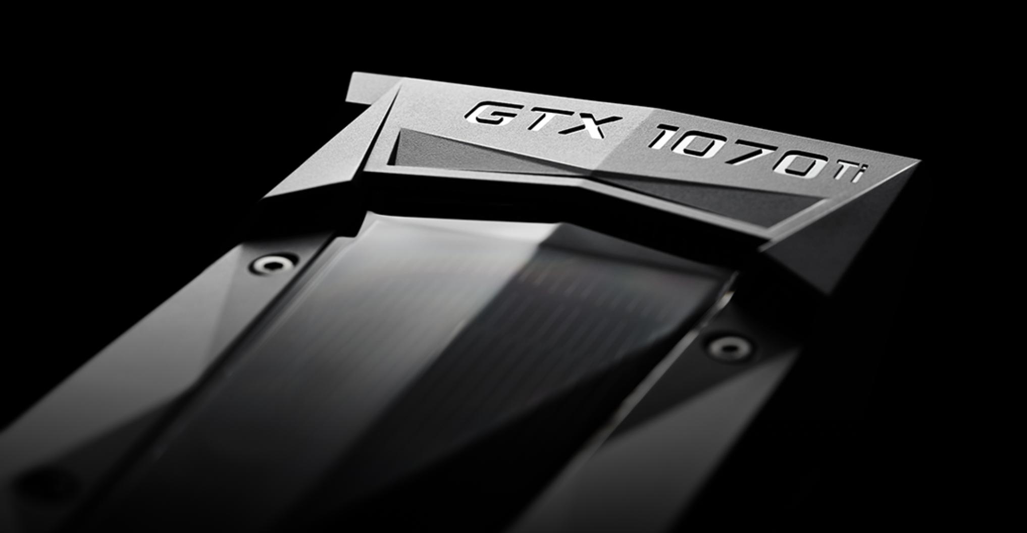 NVIDIA GeForce GTX 1070 Ti graphics card