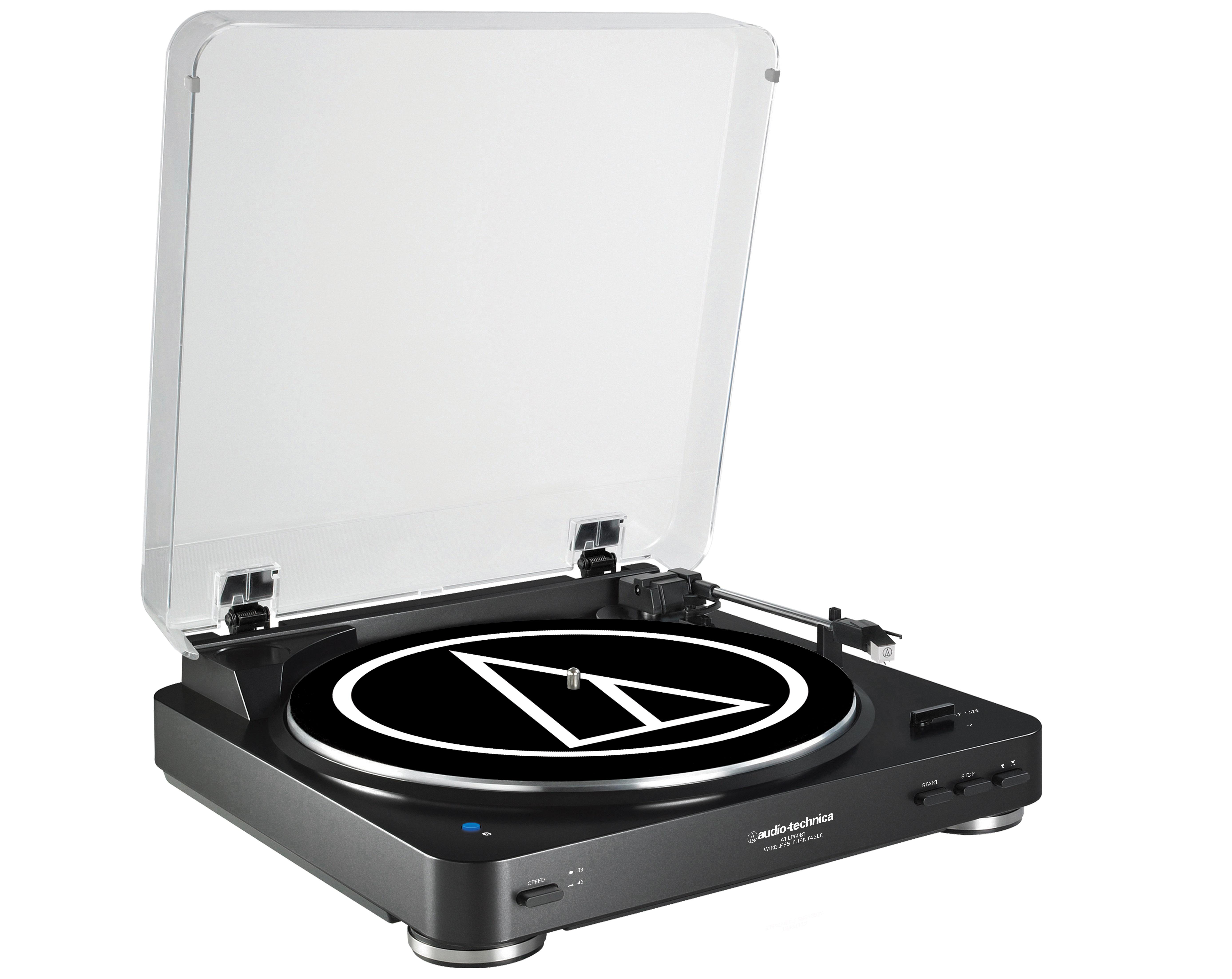 The Audio-Technica LP60-BT turntable
