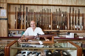 guns firearms store dealer getty