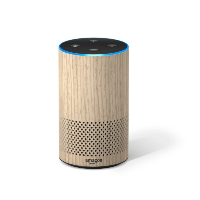 Image of Amazon Echo smart speaker.