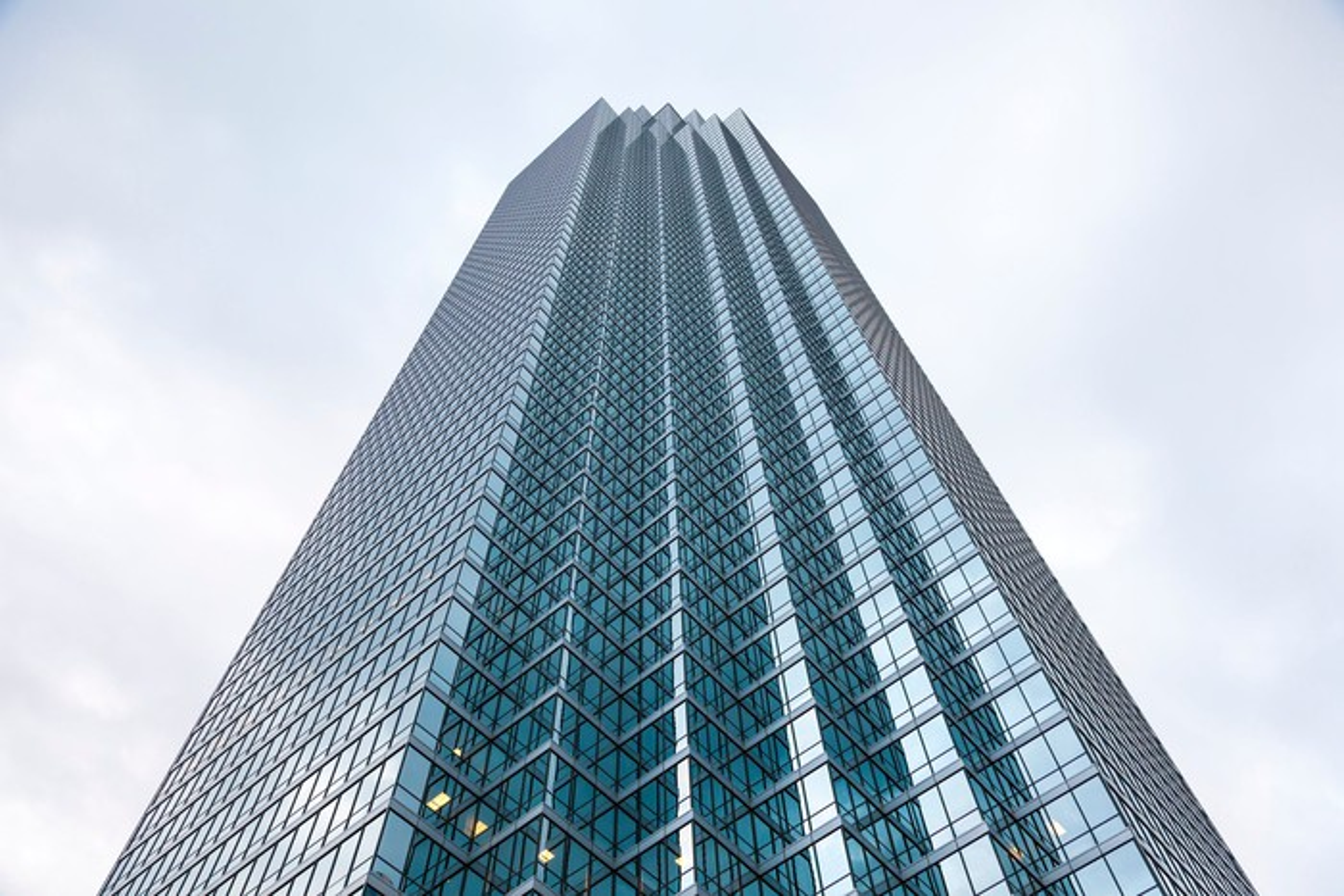 The Bank of America Plaza in Dallas, Texas.
