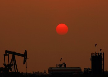 Oil Pump with red moon