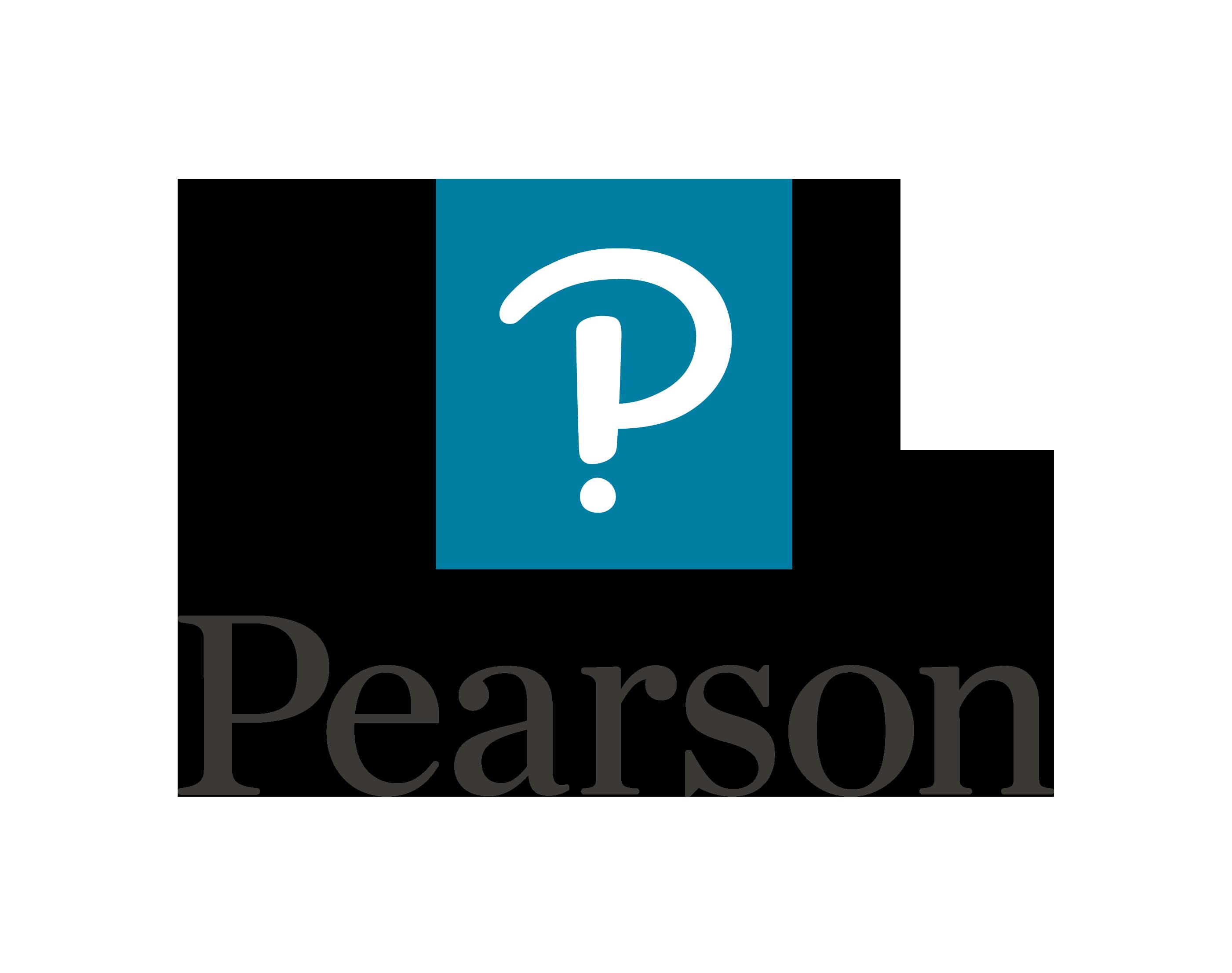 Pearson's logo.