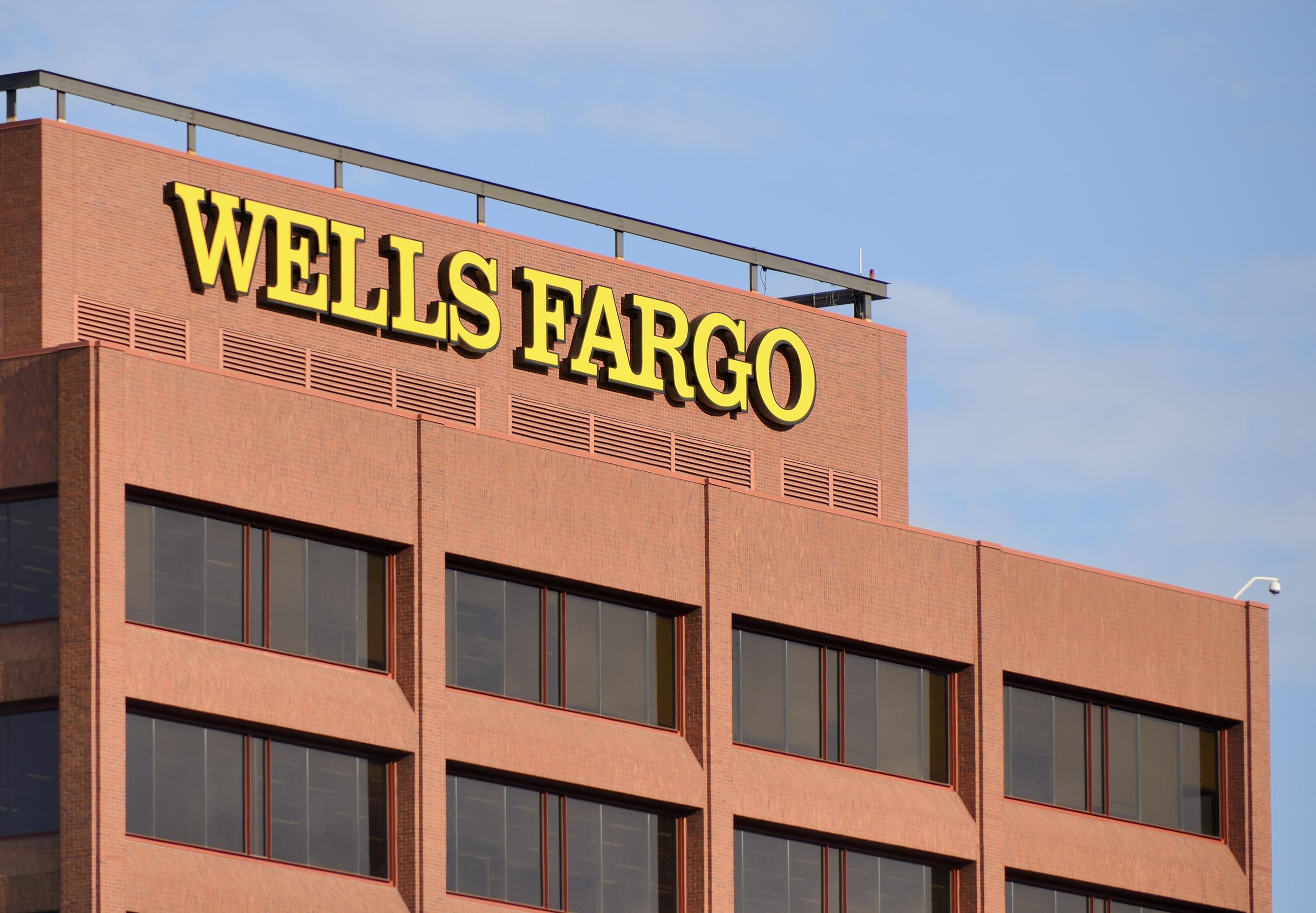 A Wells Fargo building in Philadelphia.