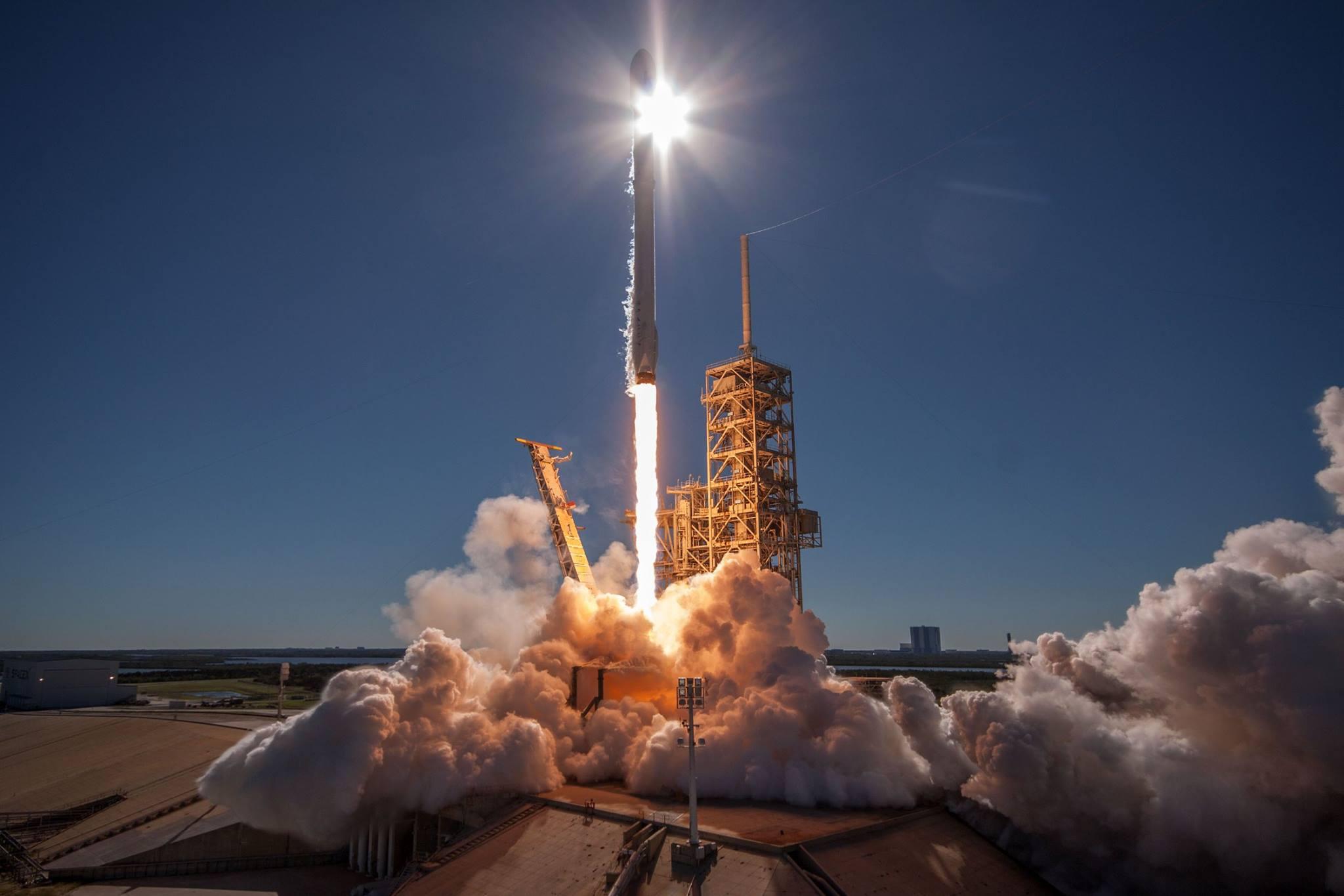 Koreasat-5A rocket launching