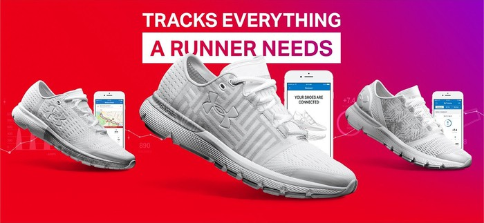 UA's connected shoes.