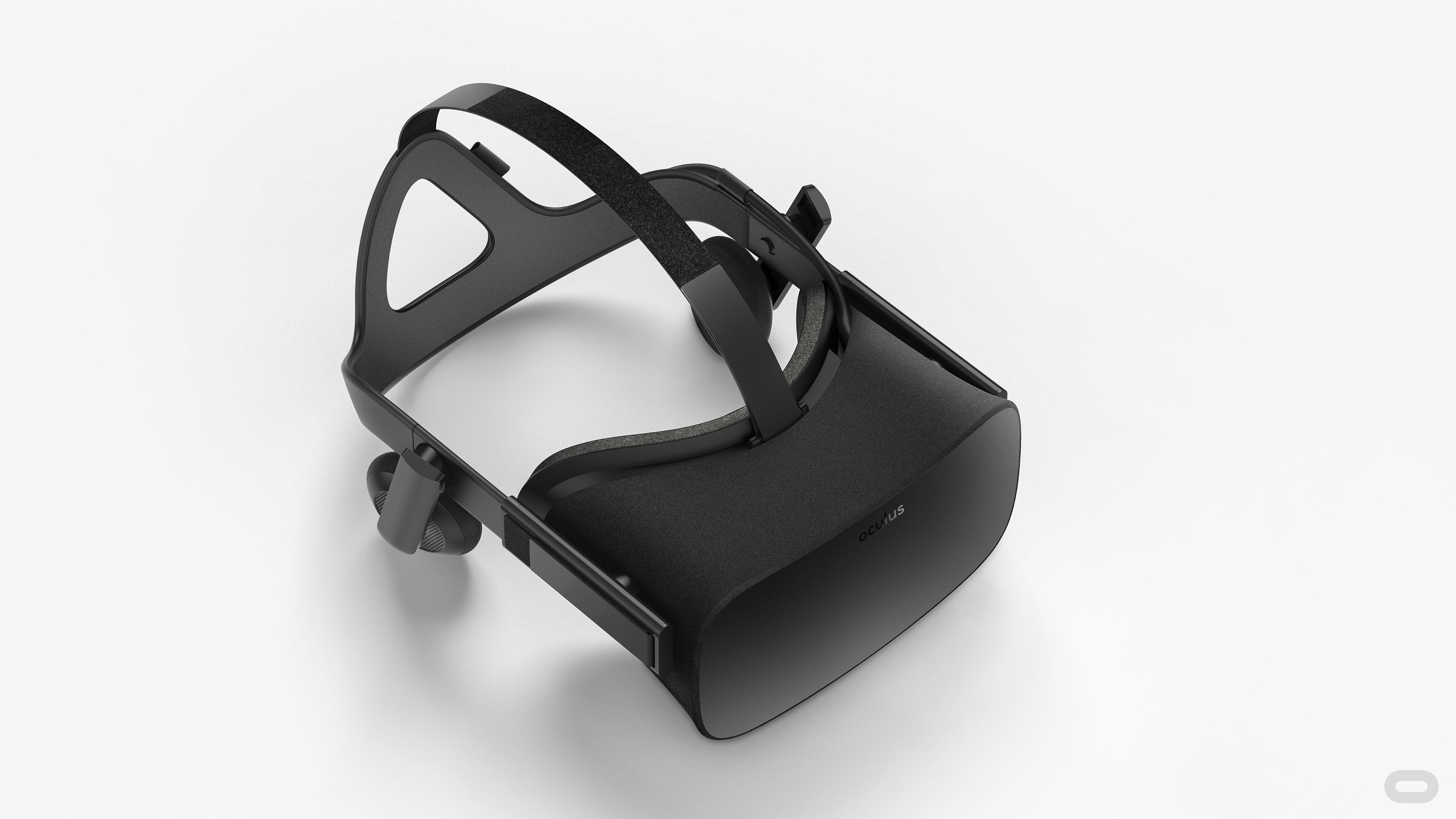 Oculus Rift headset.