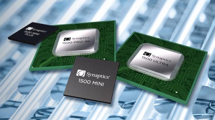 Synaptics chips.