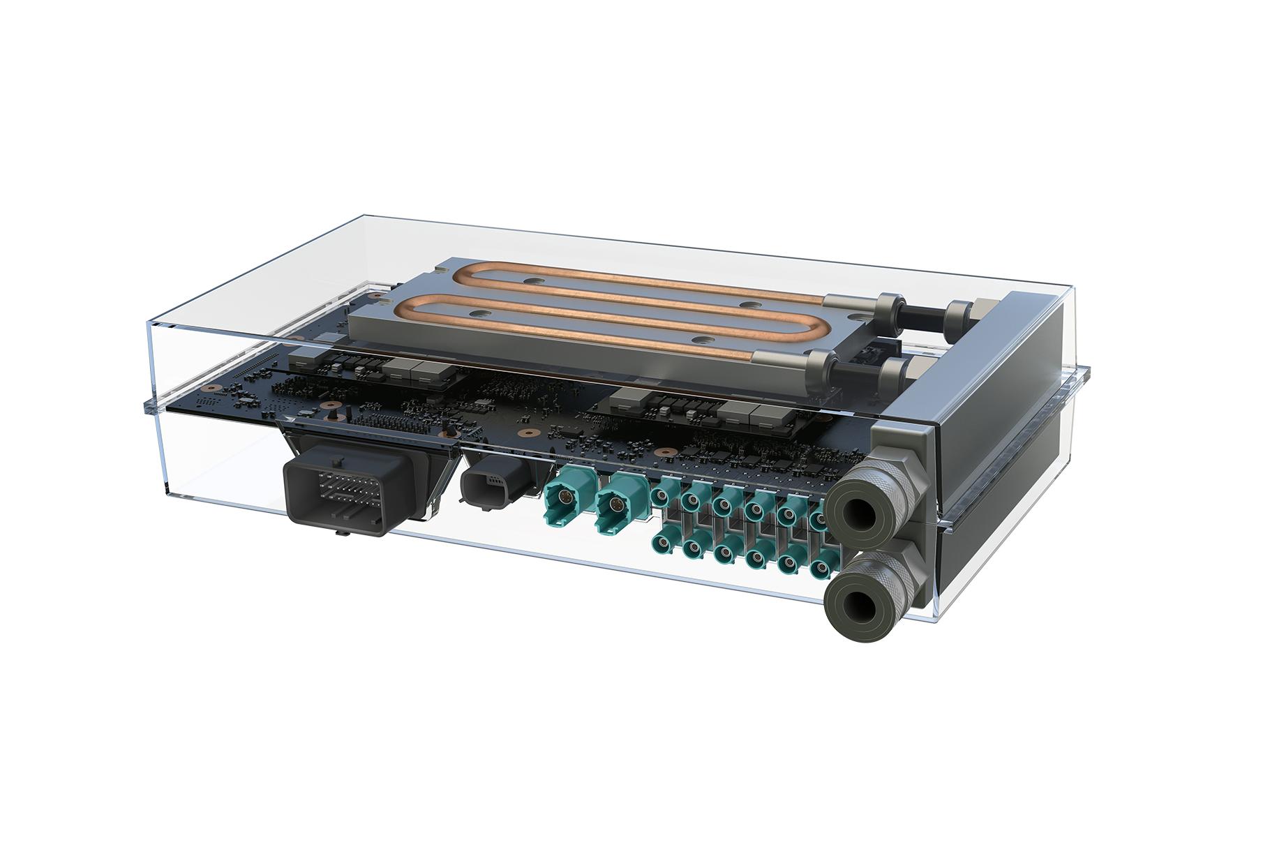NVIDIA's Drive PX automotive computer.