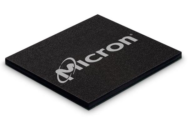 MU logo on NAND chip