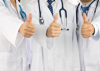 thumbs-up-three-doctors-getty