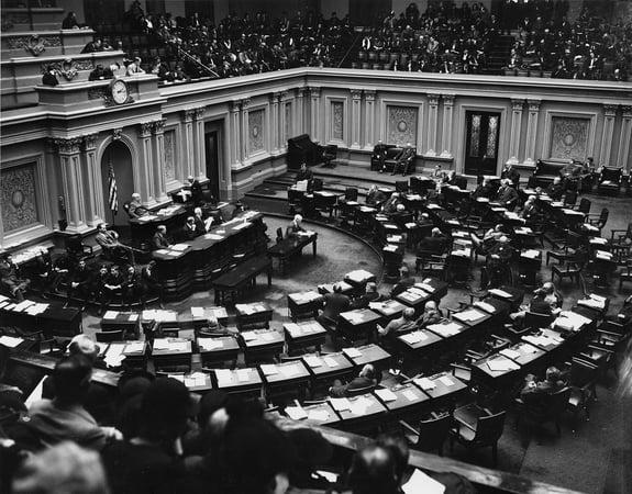Senate 1930s