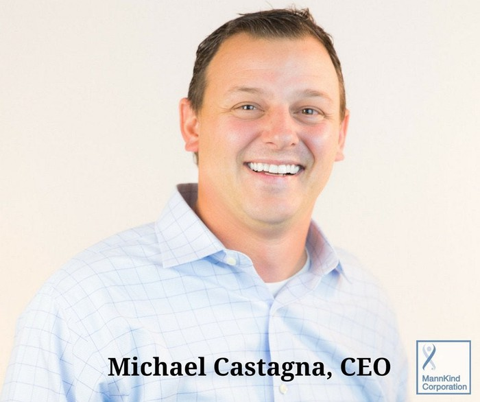 MannKind CEO Michael Castagna