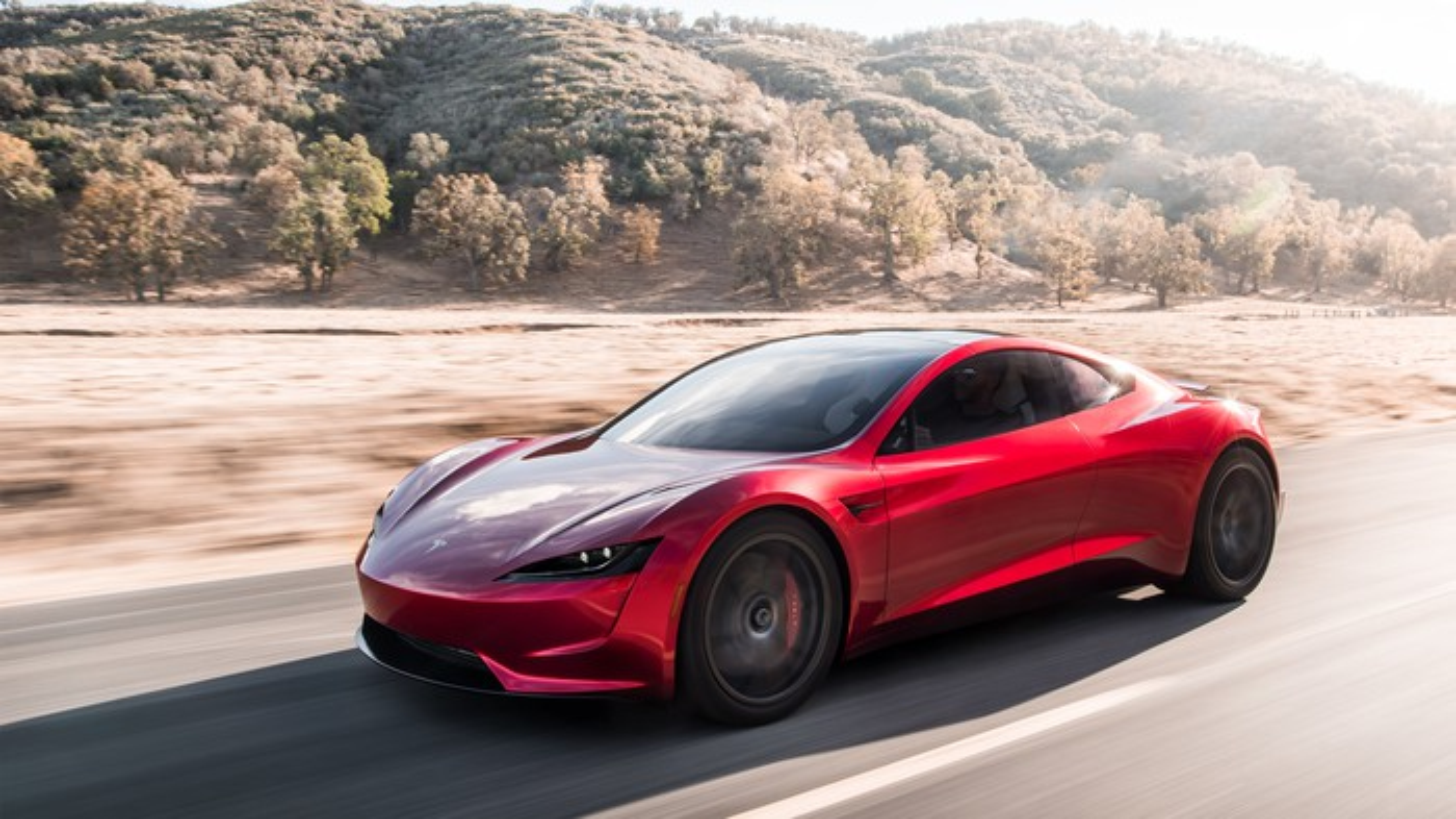Tesla's new Roadster.