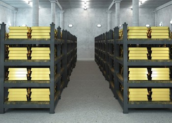 gold vaults are cheaper than bitcoin storage