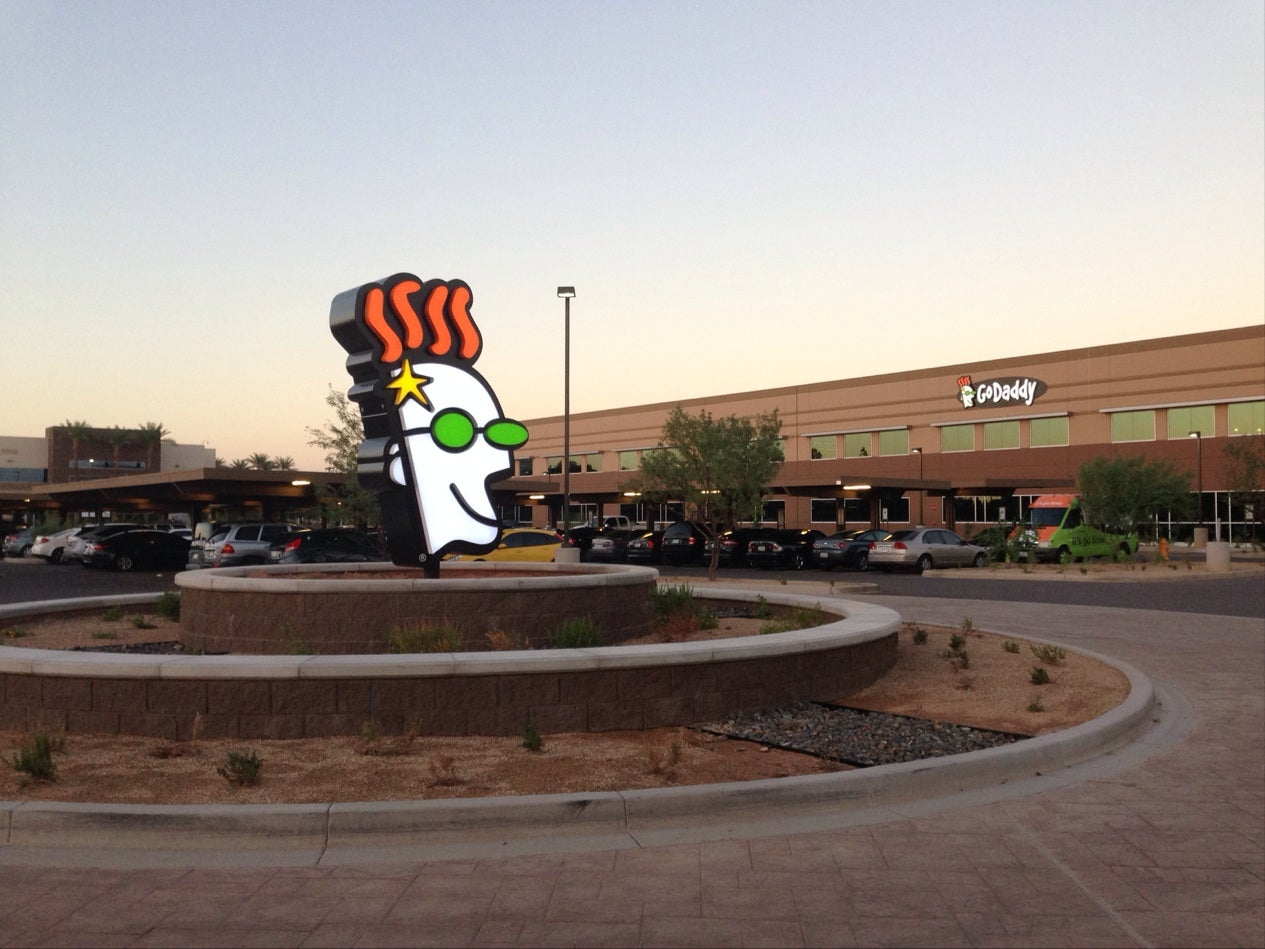 Front of GoDaddy's corporate headquarters