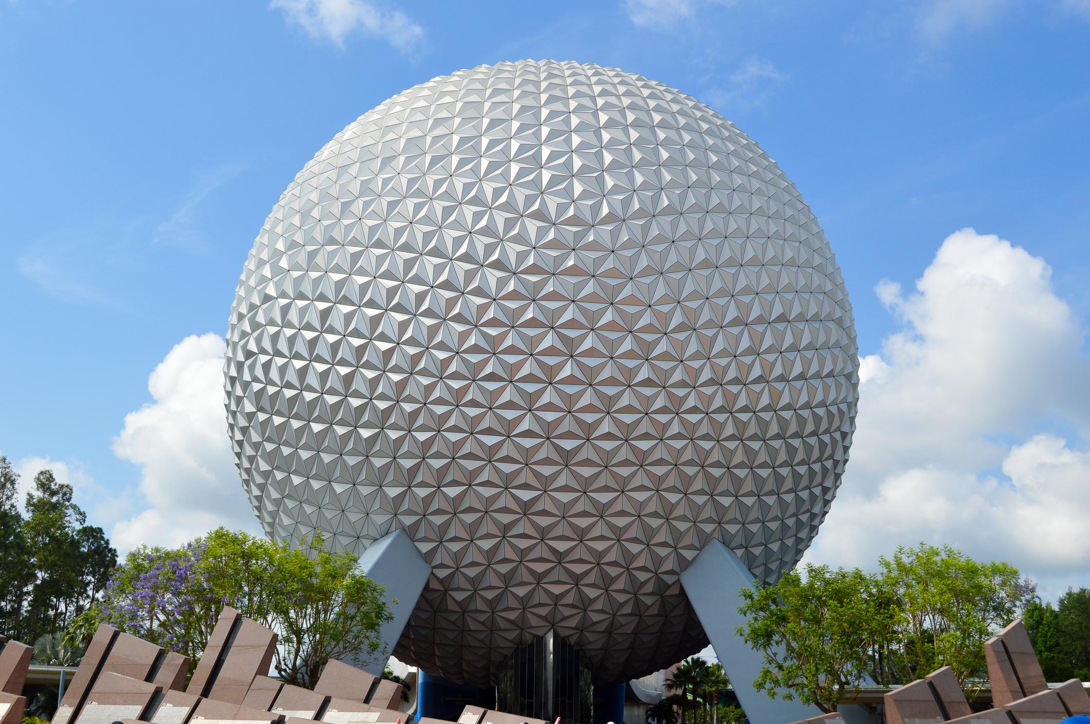 Image of Epcot Center at Disney World.