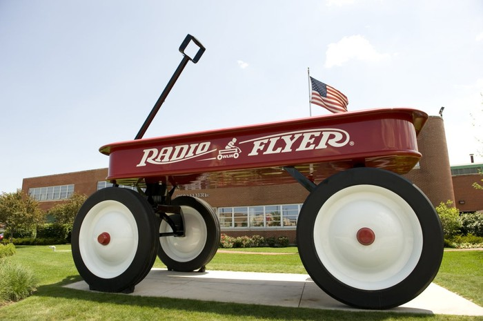 Radio Flyer wagon