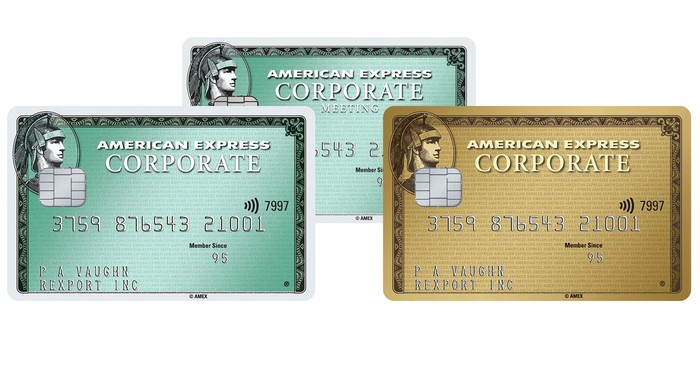 American Express corporate credit cards
