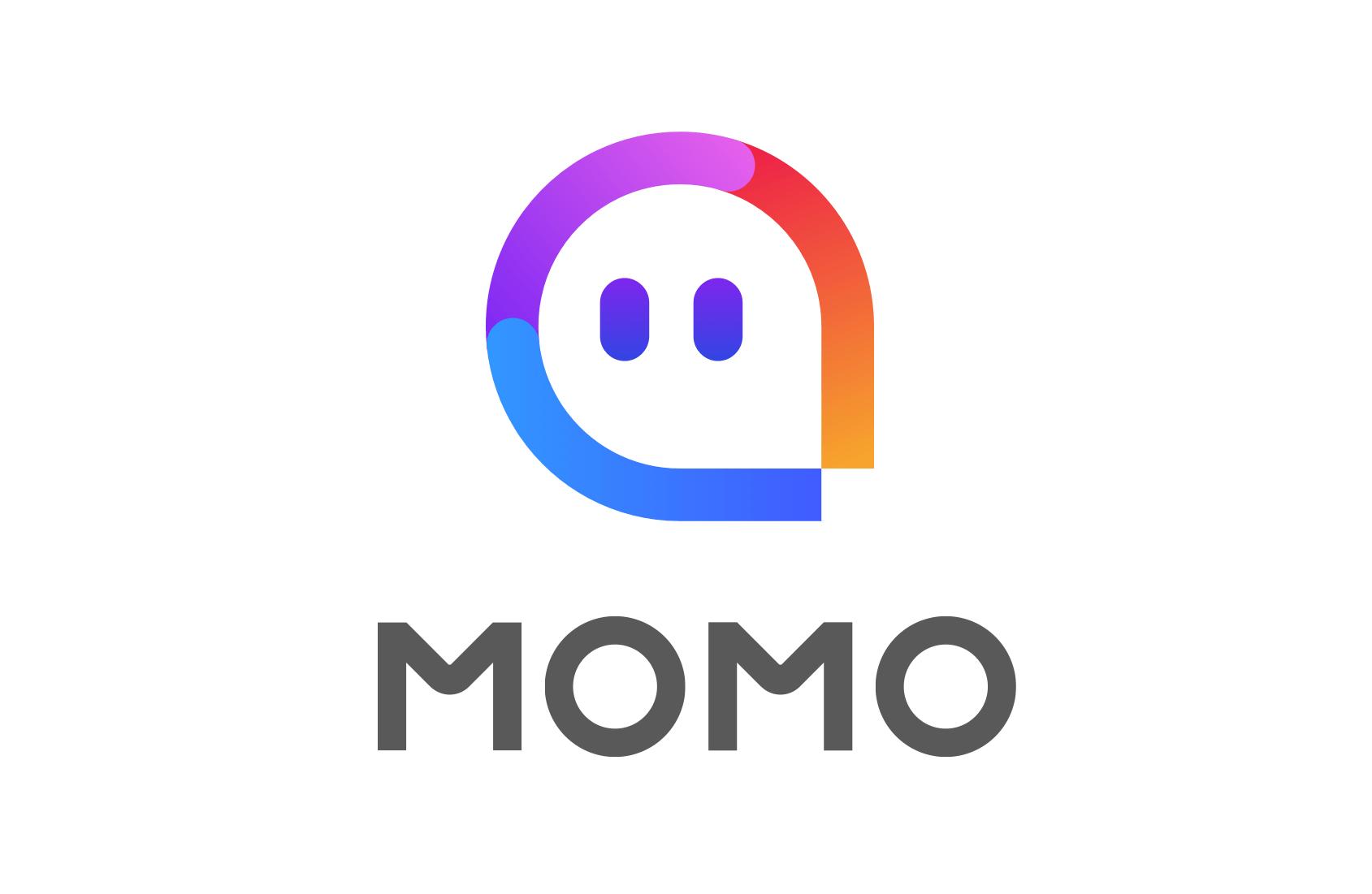 Momo logo.