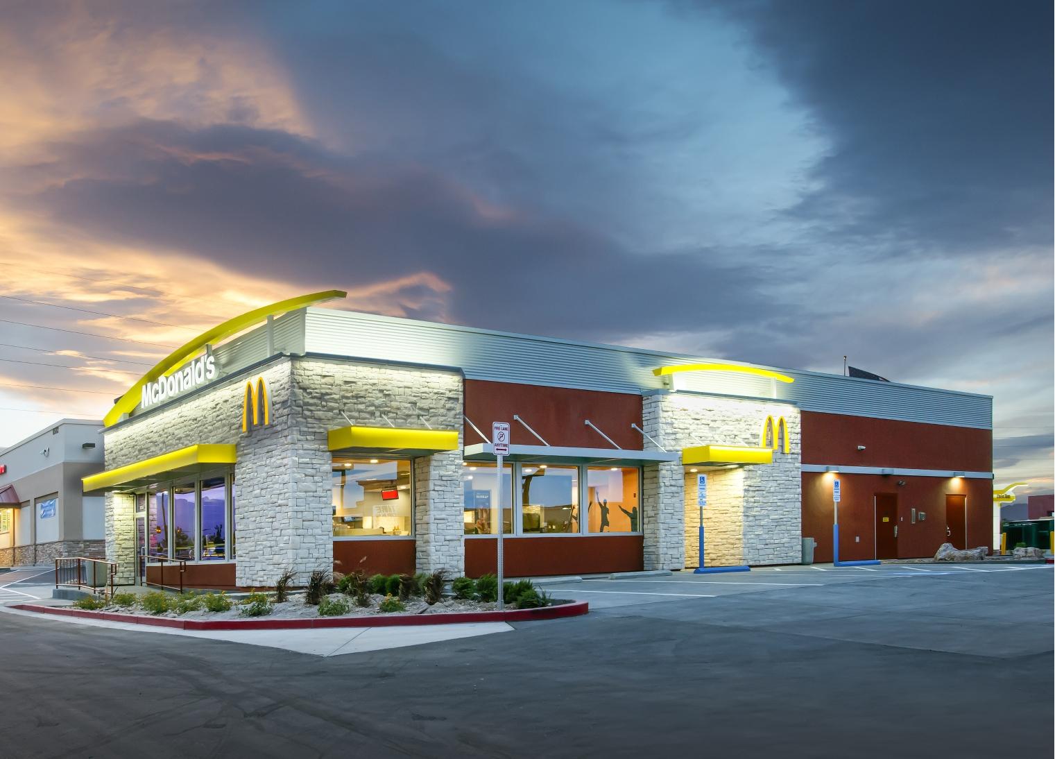 McDonald's restaurant in Las Vegas